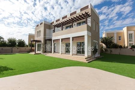 فیلا 5 غرف نوم للايجار في مدن، دبي - Large Corner Plot |Single Row |Vacant |Landscaped