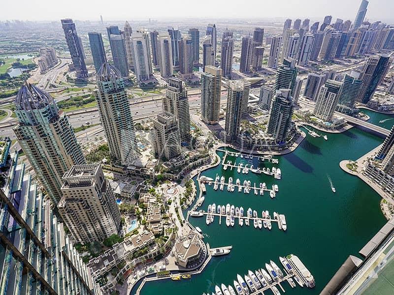 Full Marina Views | Balcony | High Floor