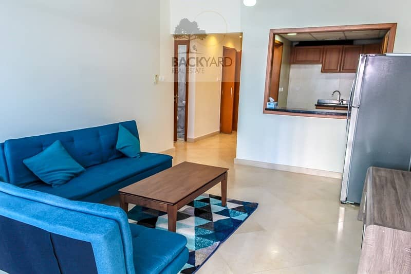 15 Fully Furnished 1BR | Excellent Layout