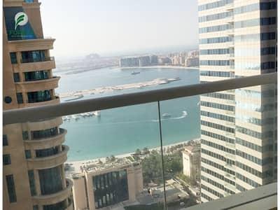 شقة 2 غرفة نوم للبيع في دبي مارينا، دبي - Spacious 2 BR with Sea View Vacant Unfurnished