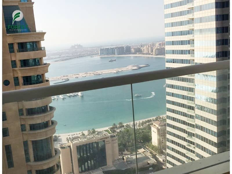 Spacious 2 BR with Sea View Vacant Unfurnished