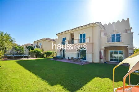 5 Bedroom Villa for Sale in Dubai Sports City, Dubai - Close to pool | Large plot | Golf course view