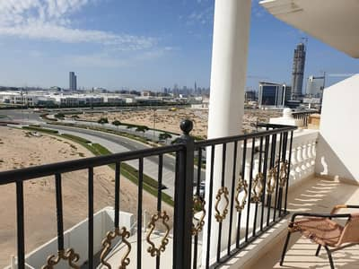1 Bedroom Flat for Rent in Dubai Production City (IMPZ), Dubai - REDUCED PRICE IN 12 CHEQUES QASR SABAH 1B/ROOM WITH BALCONY