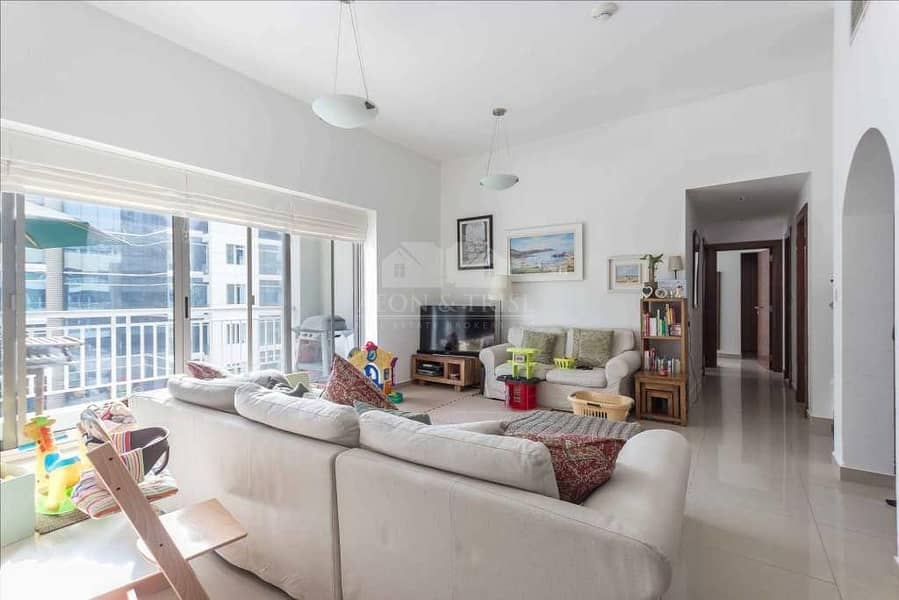 2 Chiller Free | 2 Beds | Marina View Near to metro