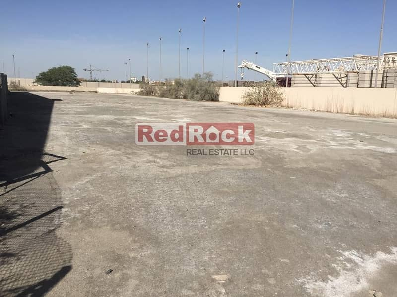 2 OpenYard 15000 Sqft in Prime Location of Jebel Ali