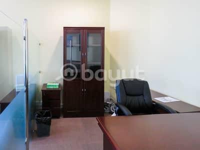 مکتب  للايجار في شارع الشيخ زايد، دبي - FITTED OFFICE