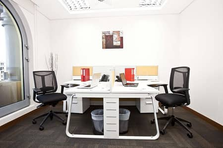 Office for Rent in Deira, Dubai - Fixed Desk for Trade License - Estidama Contract