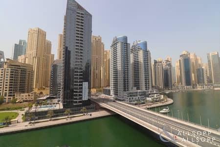 شقة 2 غرفة نوم للبيع في دبي مارينا، دبي - Full Marina Views | Modern | Two Bedroom