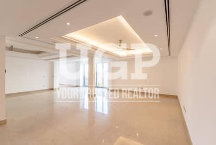 6 Bedroom Villa for Rent in Saadiyat Island, Abu Dhabi - Vacant and Big Layout 6BR Villa w/ Garden and Pool