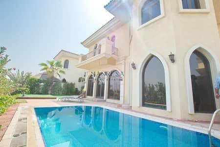 4 Bedroom Villa for Sale in Palm Jumeirah, Dubai - 4 Bed + Maid Villa | HighNumber | Atrium Entry