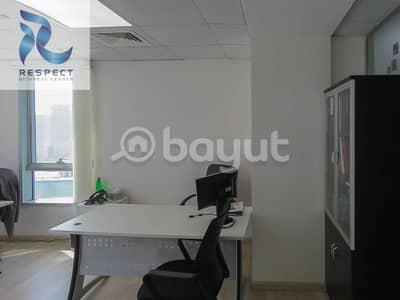 مکتب  للايجار في الخليج التجاري، دبي - Full Year Ejari Services l Sustainability No Commission.