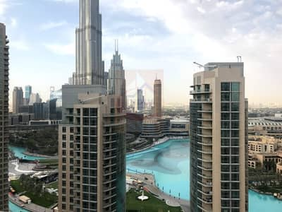 Full Burj and Fountain View   2BR   Vacant