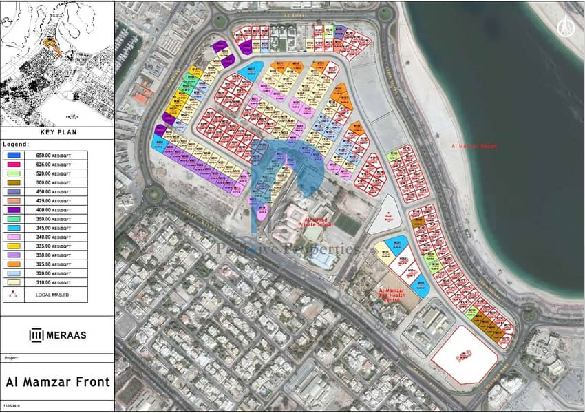 12 Free Hold area | No commission | Beach Facing | AED 310/sq.ft