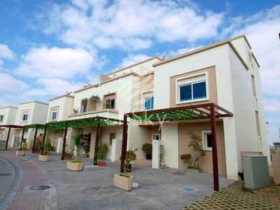 5 Bedroom Villa for Sale in Al Reef, Abu Dhabi - Furnished villa with Extended Garden