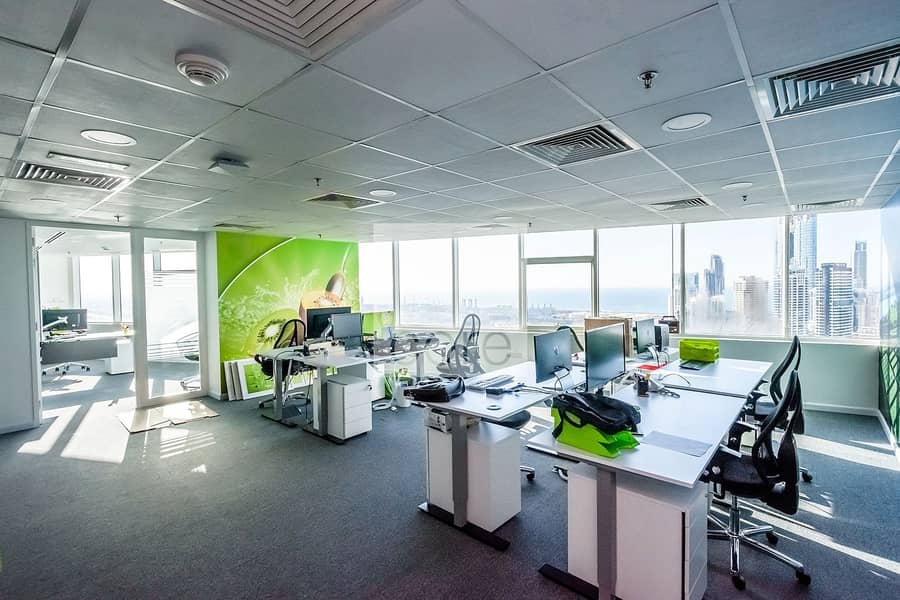 10 Fitted and furnished office on Prime Location