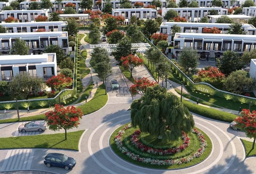 2 Waterfront Living Ready Crystal Lagoon in  Elan Tilal Al Ghaf by Majid Al Futtaim