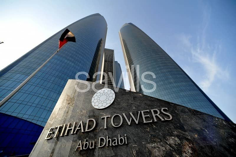 Luxury living two bedroom apartment at  Etihad towers