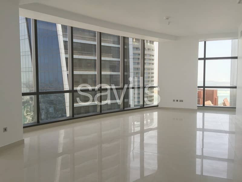 2 Luxury living two bedroom apartment at  Etihad towers