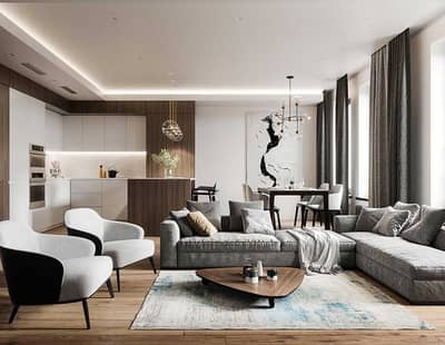1 Bedroom Flat for Sale in Al Furjan, Dubai - monthly installment of 6600 dirhams per month and move in now