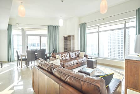 2 Bedroom Penthouse for Sale in Dubai Marina, Dubai - Largest Layout | High floor | Marina View