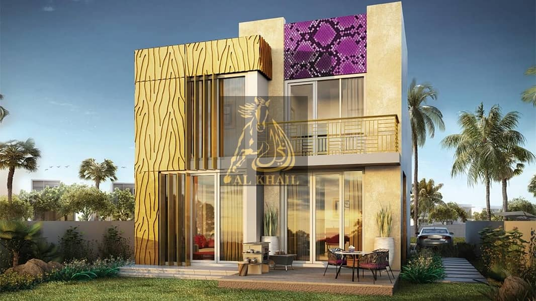 Buy Branded Luxurious 3BR Villas by the Italian designer in Akoya Oxygen | Book for 10% Only in 3 Years Payment Plan