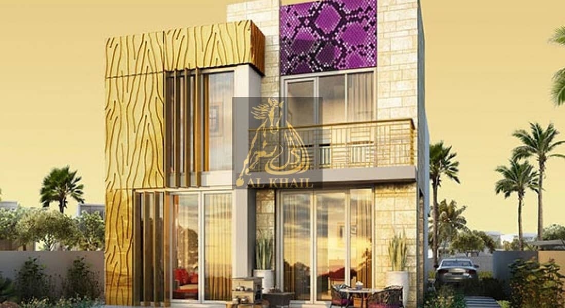 10 Buy Branded Luxurious 3BR Villas by the Italian designer in Akoya Oxygen | Book for 10% Only in 3 Years Payment Plan