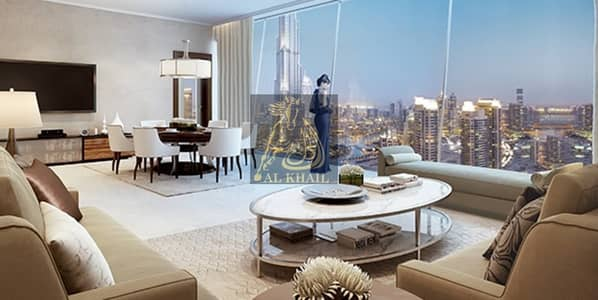 4 Bedroom Apartment for Sale in Downtown Dubai, Dubai - Upscale 4BR Apartment for sale in Downtown Dubai | Best Location with Stunning Views of Burj Khalifa and Dubai Fountain