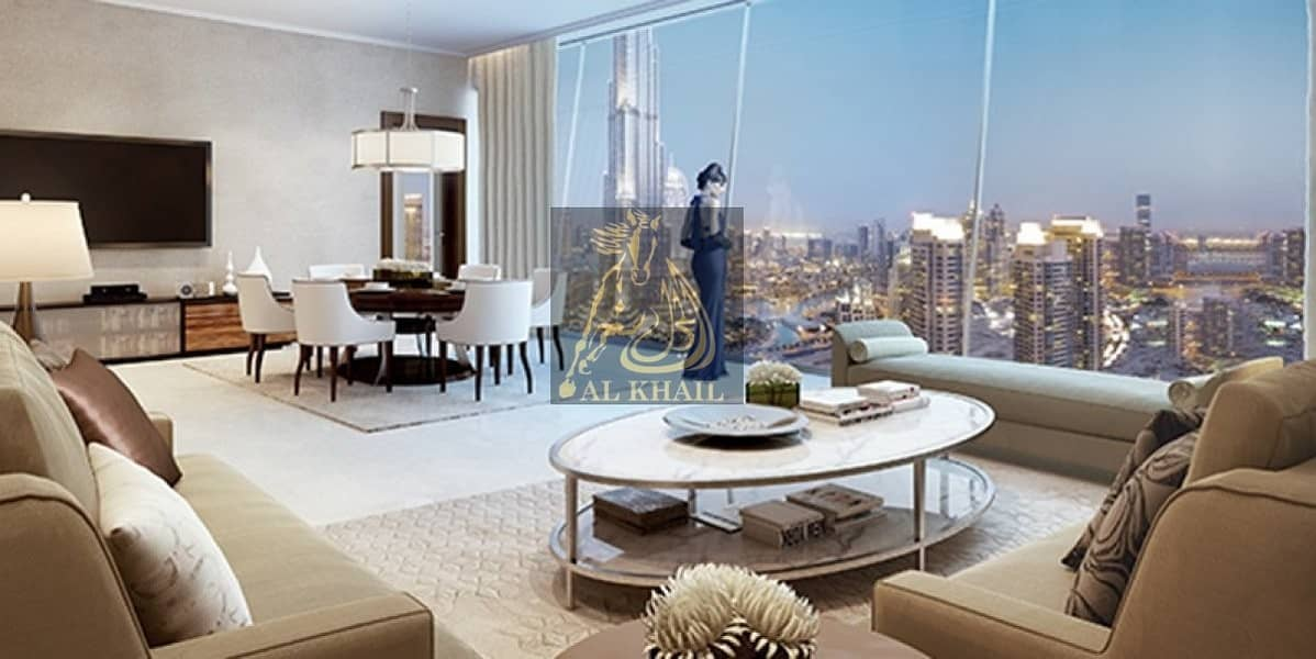 Upscale 4BR Apartment for sale in Downtown Dubai | Best Location with Stunning Views of Burj Khalifa and Dubai Fountain