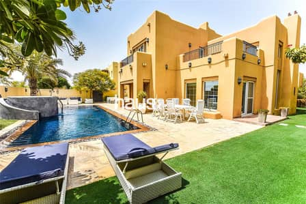 5 Bedroom Villa for Sale in Arabian Ranches, Dubai - Pool || Single Row || Fully Landscaped |