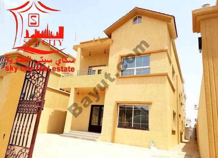 New villa finishing super deluxe large building area great location second piece of the street