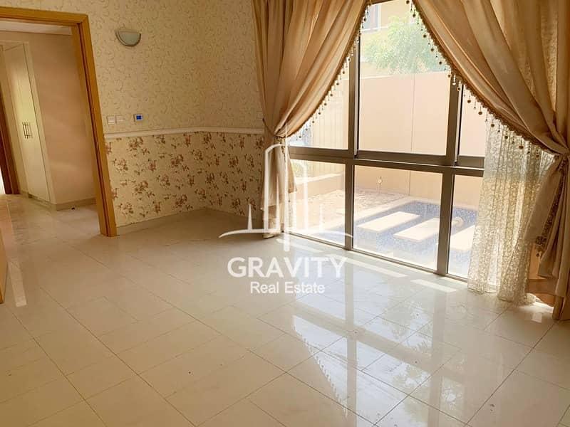 Spacious 5BR Villa in Al Raha Gardens w/ pool