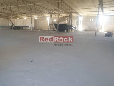 Only AED 9/Sqf || Al Quoz || Indep Open Land with Warehouse