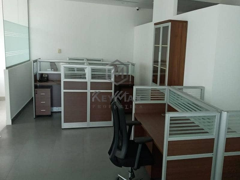 Large Fitted Office Available l with Pantry and Washroom