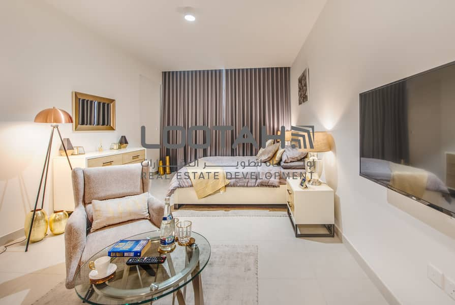 Large spacious Studio | Handover this year | 8% Yield