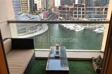 1 Bedroom Flat for Sale in Dubai Marina, Dubai - Full Marina view | Fully furnished | Vacant