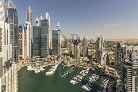 بنتهاوس 4 غرف نوم للبيع في دبي مارينا، دبي - DUPLEX PENTHOUSE - PANORAMIC MARINA VIEW - 3 YEAR POST PLAN