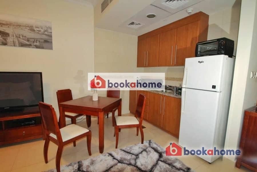 2 Executive Studio in Saba Tower 2 with spacious balcony
