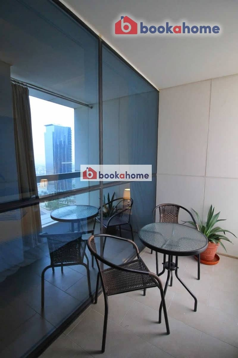 2 Executive Studio in Saba Tower 2 with spacious balcony