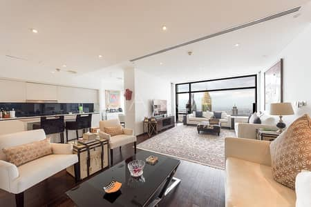 3 Bedroom Flat for Sale in DIFC, Dubai - Exquisite Unit | Upgraded | DIFC and Sea Views