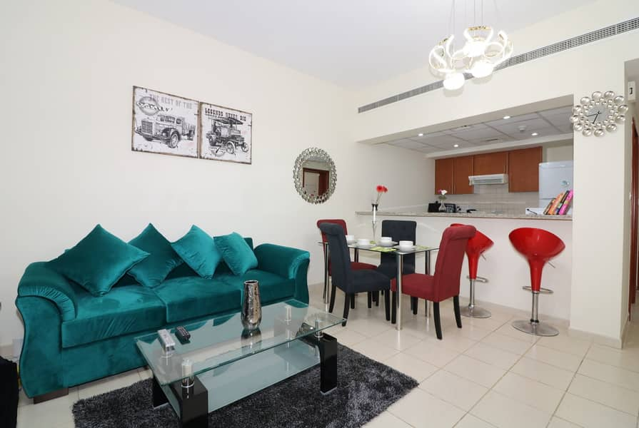 2 Fabulous 01 BR Apartment in Al Alka 3- The Greens