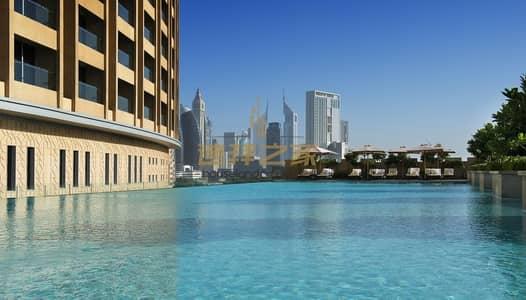 فلیٹ 1 غرفة نوم للايجار في وسط مدينة دبي، دبي - Stunning Huge 1BR Corner Unit With 2 Balcinies