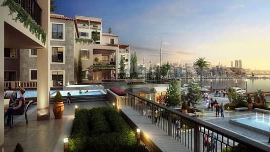 4 Bedroom Flat for Sale in Jumeirah, Dubai - Partial View of Burj Khalifa and Full Sea View