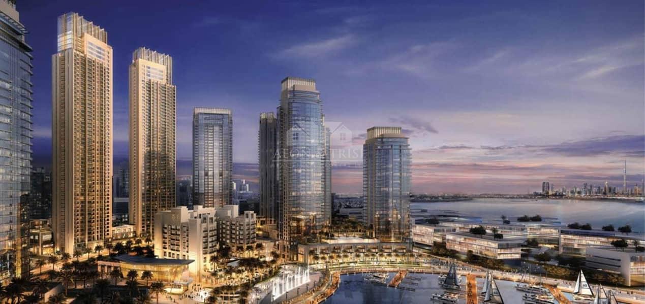 2 Creek View | Burj Khalifa View | 4 Bed Penthouse