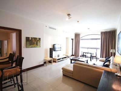 فلیٹ 1 غرفة نوم للايجار في نخلة جميرا، دبي - Price Drop - Furnished 1 Bed Serviced Look