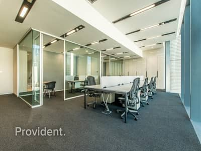 Office for Rent in DIFC, Dubai - Large Partitioned Office with Ample Parking Spaces