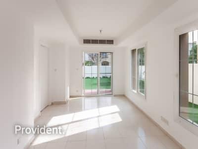 2 Bedroom Villa for Sale in The Springs, Dubai - Single Row | Rented | Spacious Type 4E Villa