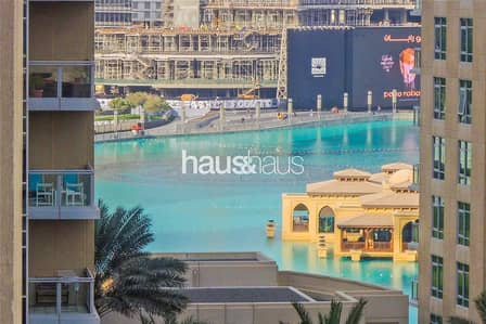 2 Bedroom Apartment for Rent in Downtown Dubai, Dubai - Premium Unit | Fountain Views|Immaculate Condition