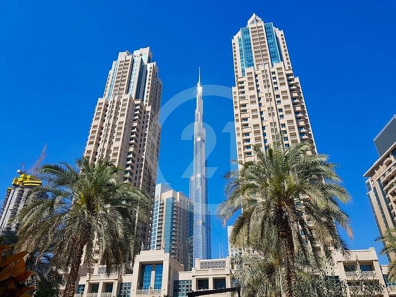 A stylish apartment for rent along Burj Khalifa area