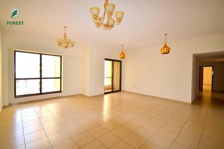 3 Bedroom Flat for Rent in Jumeirah Beach Residence (JBR), Dubai - Spacious 3 Bedroom Plus Maid Unfurnished