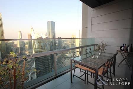 فلیٹ 1 غرفة نوم للايجار في مركز دبي المالي العالمي، دبي - One Double Bedroom | Balcony | City Views